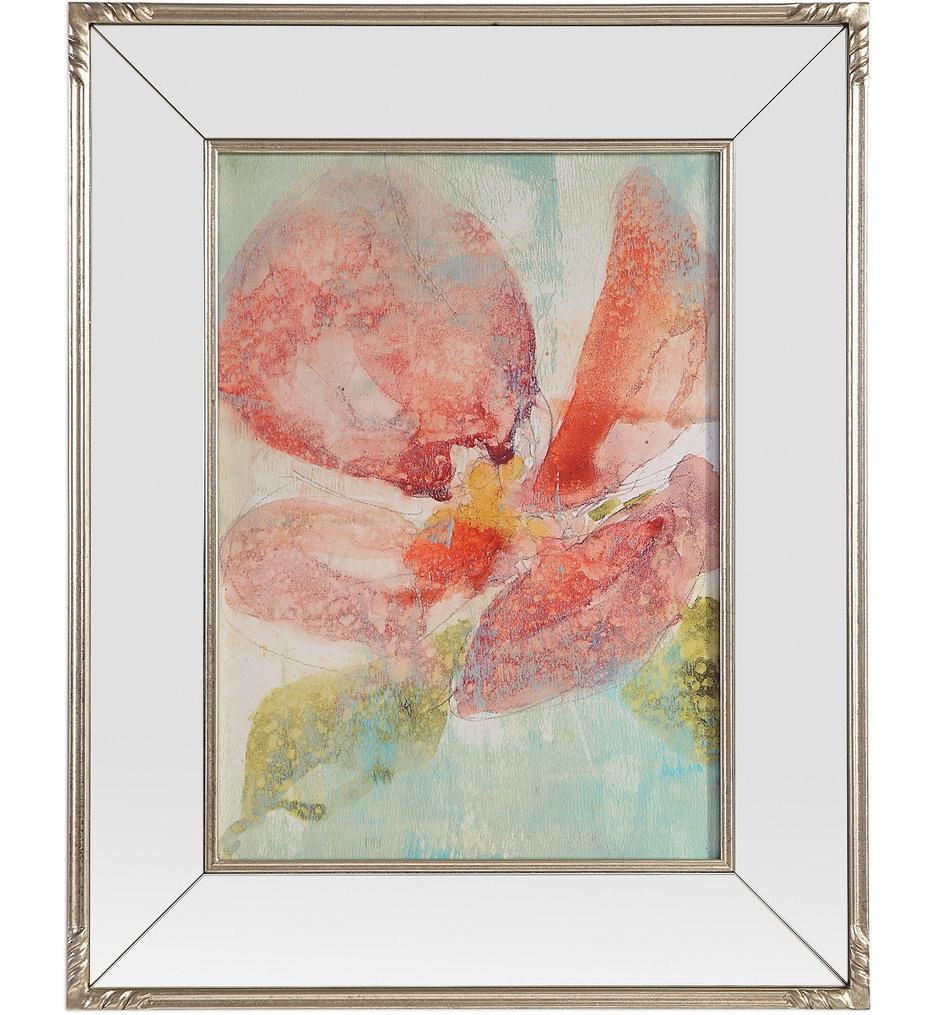 Uttermost - 41587 - Uttermost Veiled Poppy Floral Art