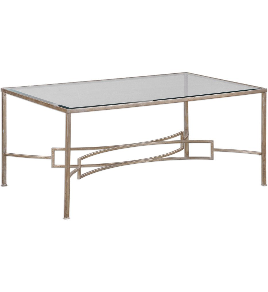 Uttermost - 24634 - Uttermost Eilinora Silver Coffee Table