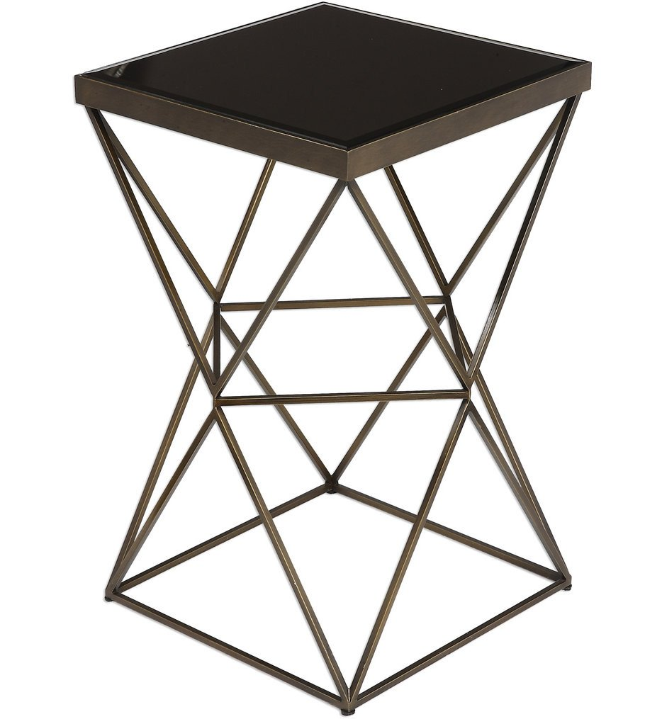 Uttermost - 24614 - Uttermost Uberto Caged Frame Accent Table