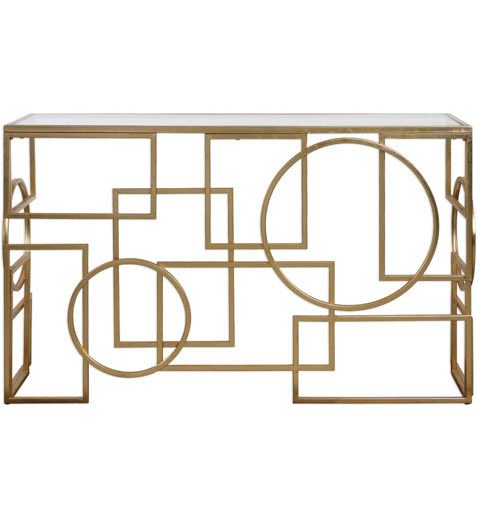 Uttermost - 24708 - Uttermost Metria Gold Console Table