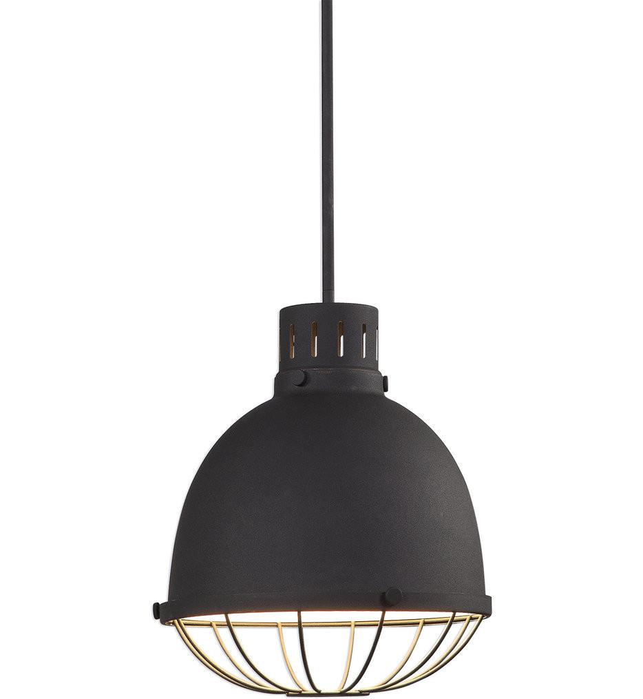 Uttermost - 22163 - Uttermost Dayton 1 Light Industrial Pendant