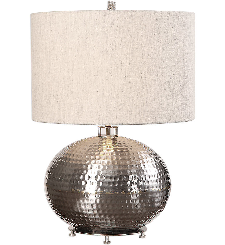 Uttermost - 27821-1 - Uttermost Metis Hammered Steel Lamp
