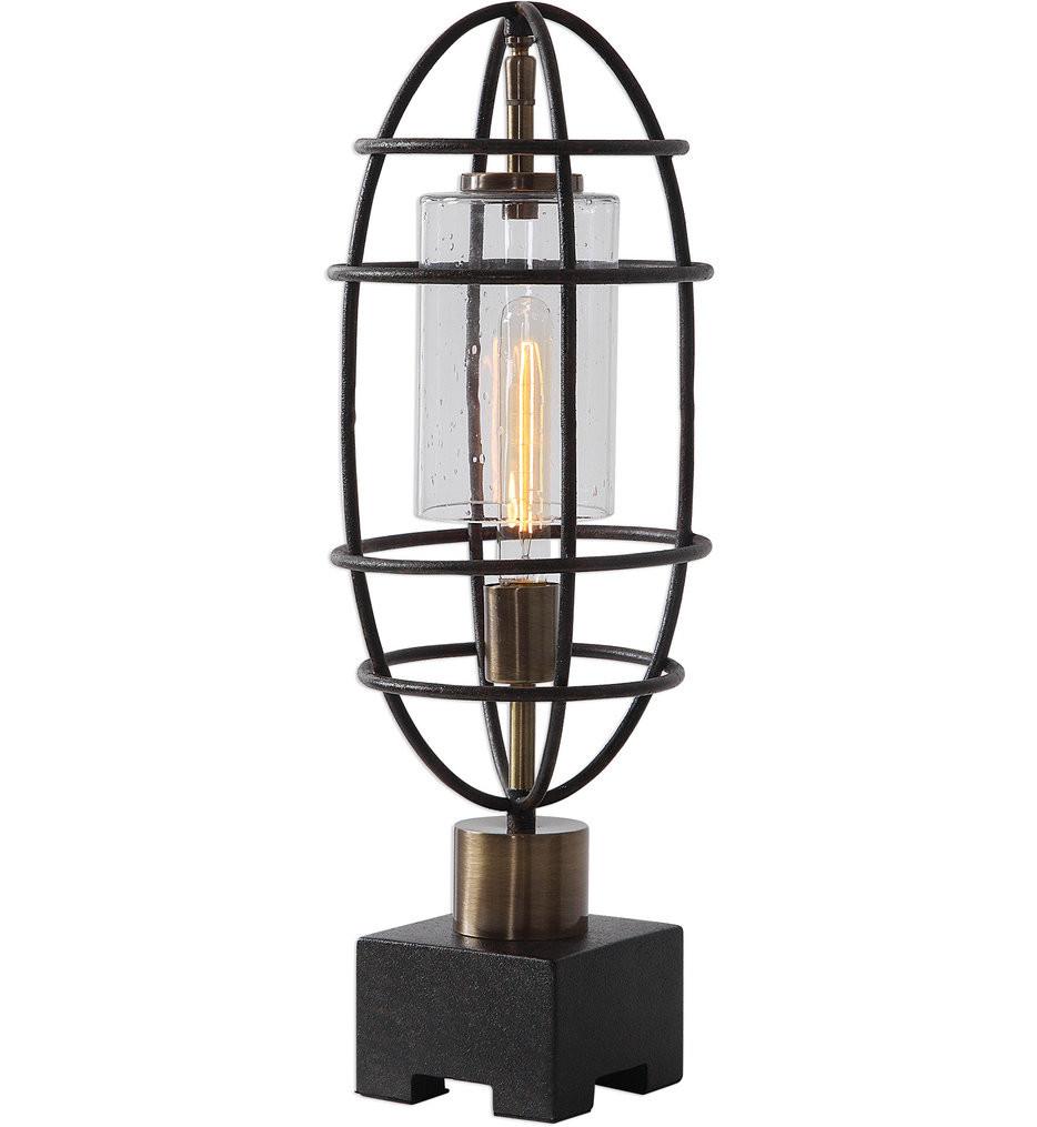 Uttermost - 29645-1 - Uttermost Newton Industrial Accent Lamp
