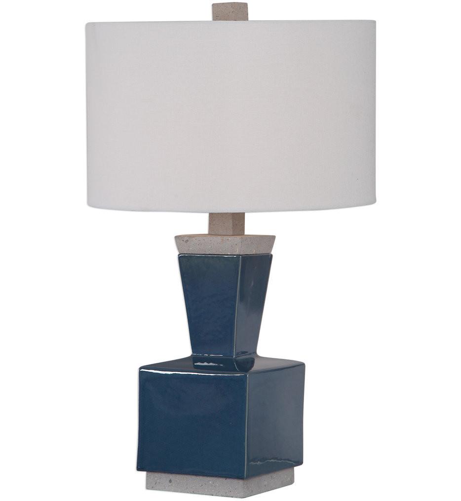Uttermost - 26223-1 - Uttermost Jorris Blue Table Lamp