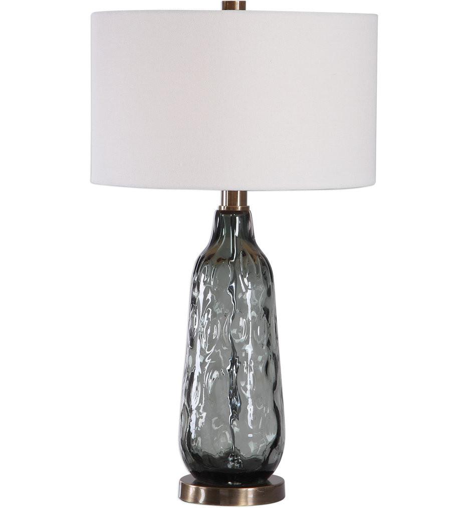 Uttermost - 27906-1 - Uttermost Zena Glass Table Lamp