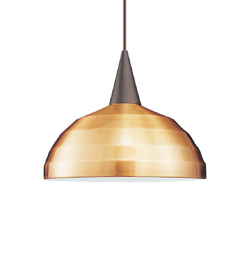 WAC Lighting - PLD-G404-CO - Industrial Collection Copper Felis Shade