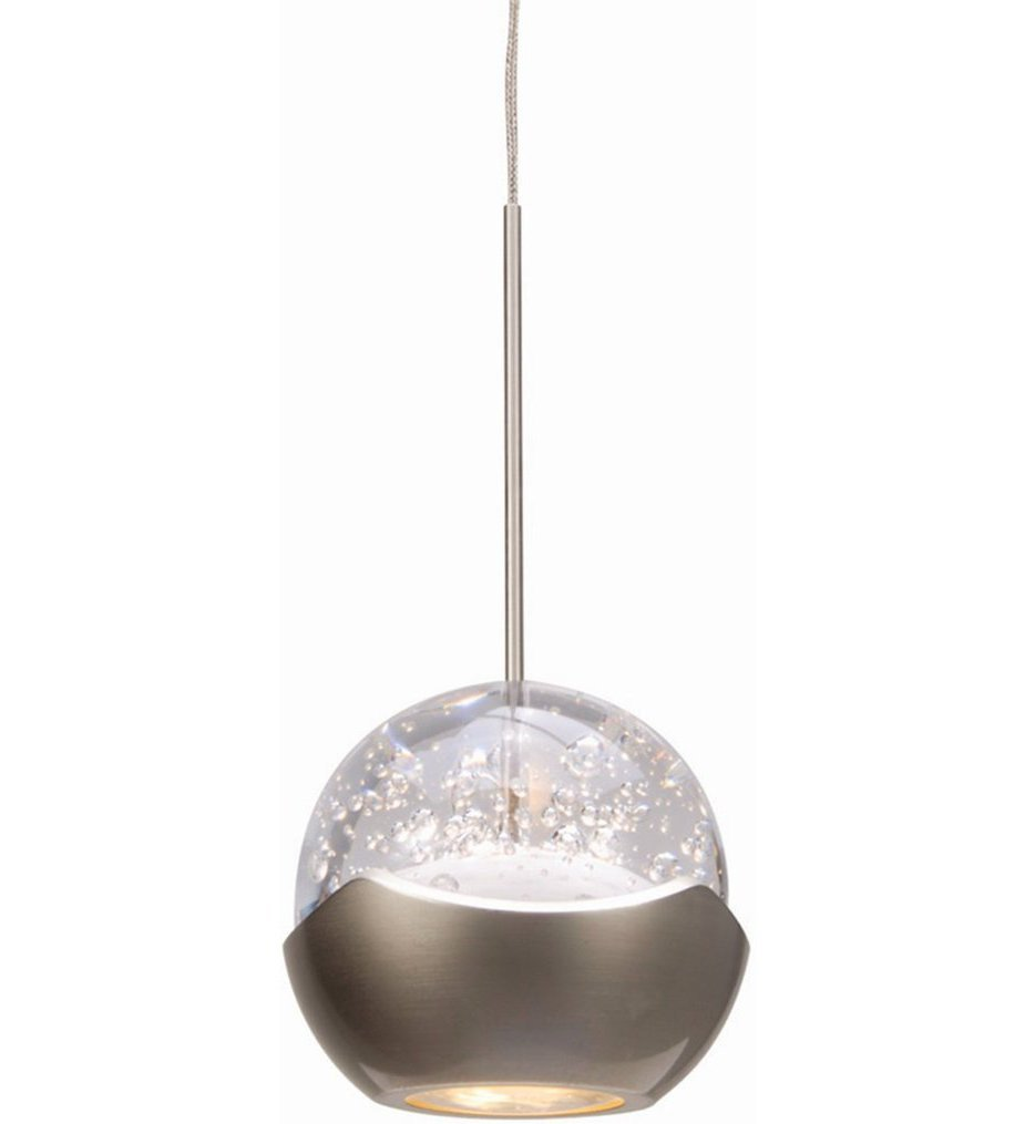 WAC Lighting - MP-LED311-BN/BN - Genesis LED Pendant with Brushed Nickel Canopy