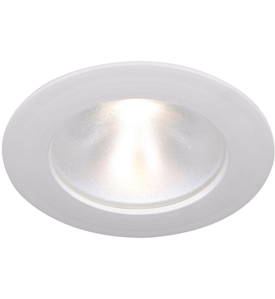 WAC Lighting - Tesla 3.5 Inch Pro LED Round Lensed Energy Star Recessed Trim