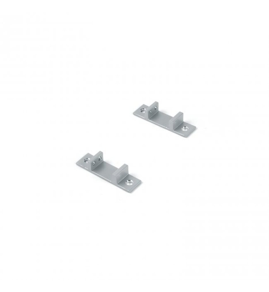 WAC Lighting - LED-T-CL3-PT - Mounting Clips for InvisiLED Aluminum Channel