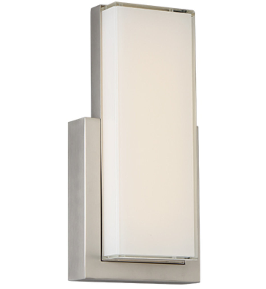 dweLED - WS-42618-SN - Corbusier LED Wall Sconce