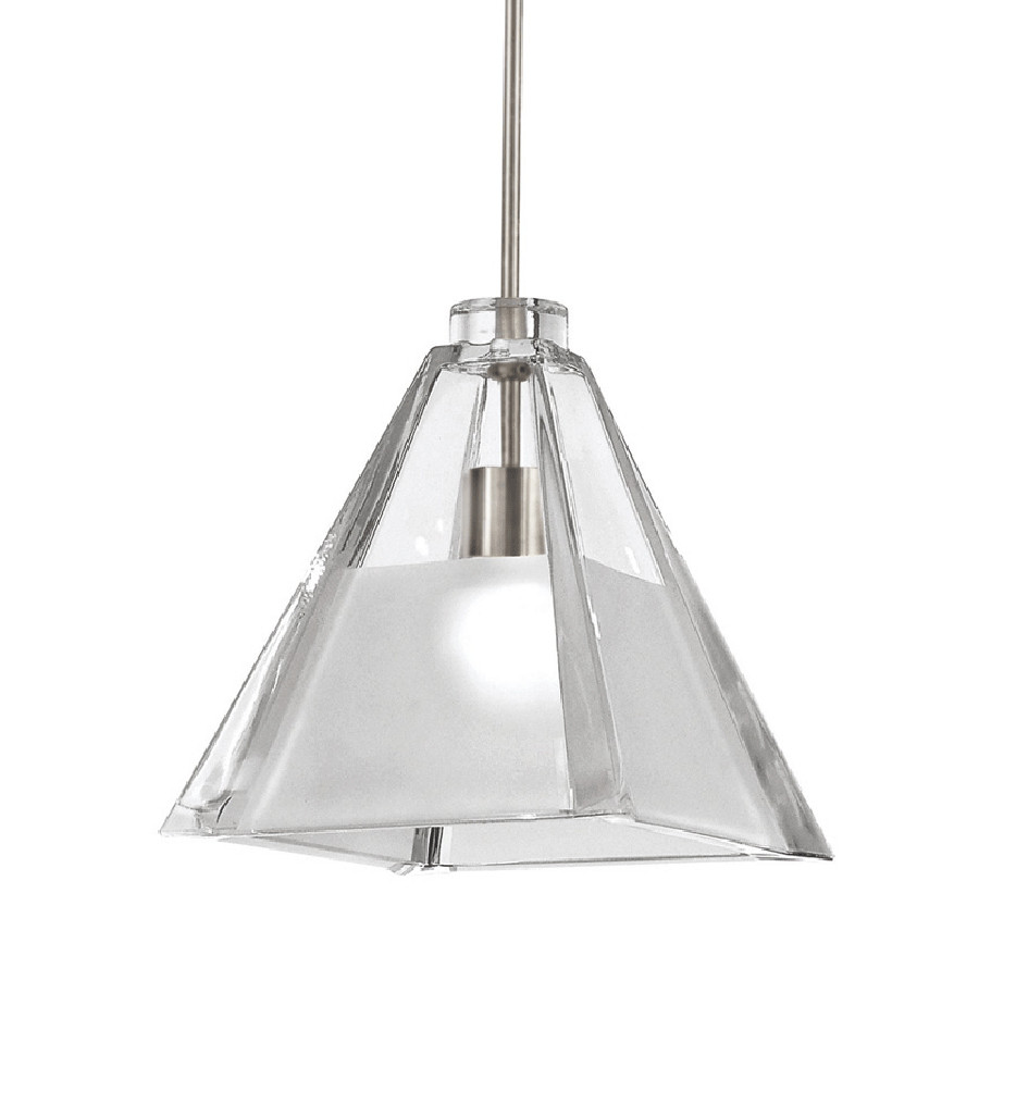 WAC Lighting - G915-CF - Clear/Frosted European Collection Tikal Shade Only