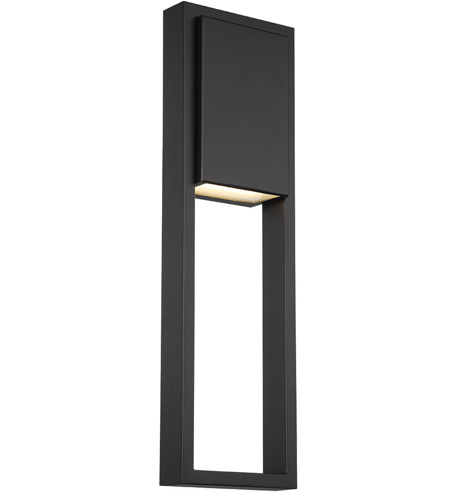 dweLED - WS-W15924-BK - Archetype Black 24 Inch Outdoor Wall Light