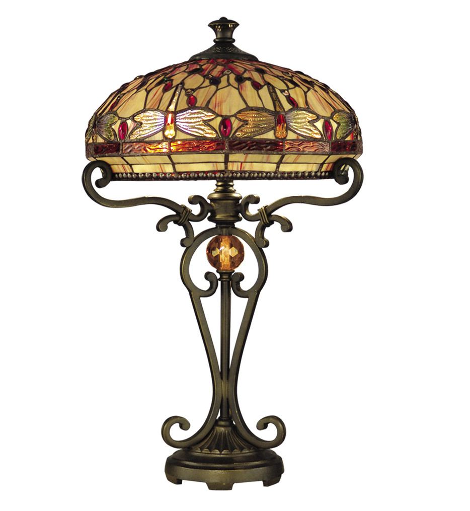 Dale Tiffany Torchiere Floor Lamp